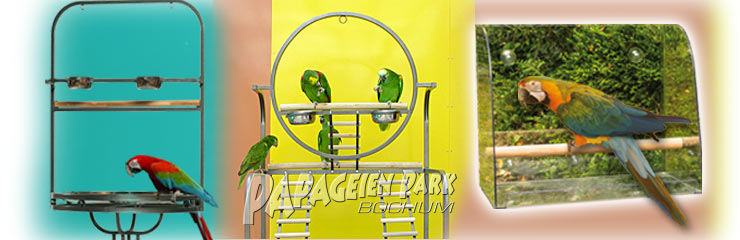 Parrot seats & perches