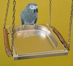Parrots and parakeets bathtubs