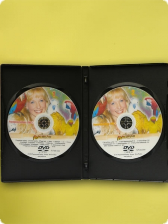 Double Parrot video DVD No. 1 & No. 2