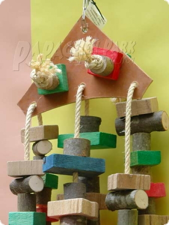 Nature line hanging toy leather climbing