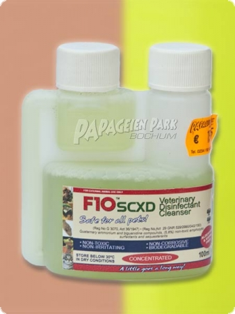 F10SCXD Desinfectant + cleaning 100ml - concentrate