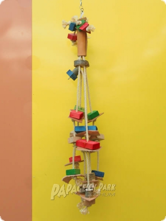 Nature line hanging toy leather garden