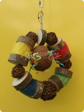 Natur line toy coconut wheel