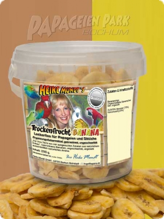 Heike Mundt's dried fruit BANANA - 150g