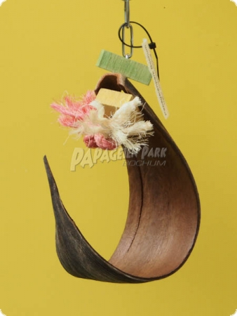 Small coconut leaf swing