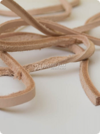 Leather strap 5mm - 3 meters