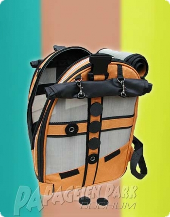BIRD-BAG - high-grade steel - Small Gold with reflectorstripes