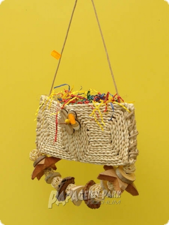 Heike Nature line hanging toy Bast Bag II