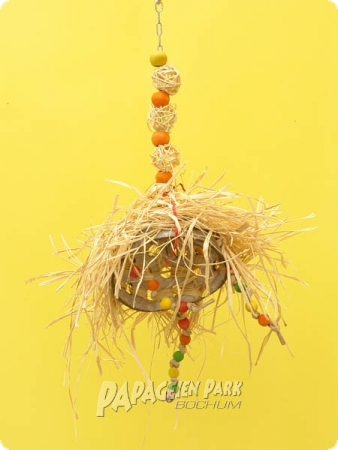 Heike Nature line hanging toy coconut Hippie II