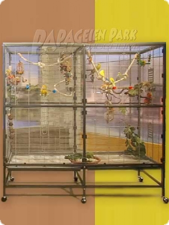 Papabo parakeet cage 2000 antique
