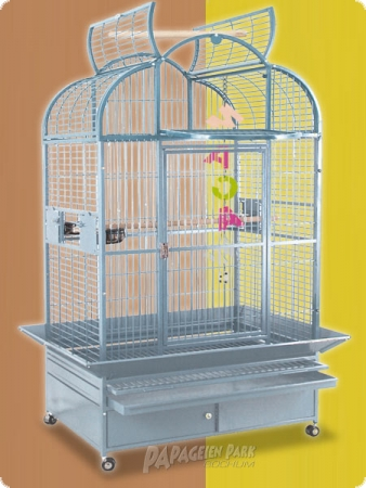 Parrot Aviary S3400 - light gray - with separated playground