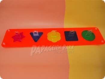 Sorting Toy Shape finder Acrylic