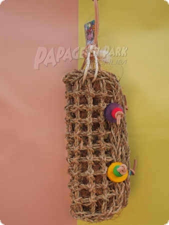 Bast bag - braided - 9 x 39 cm
