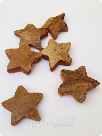6 pcs. Coconut Stars