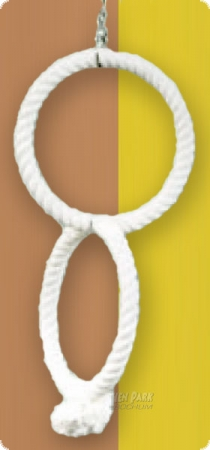 "Cotton ring - 2-fold (Diameter: 34cm/13.4"")"
