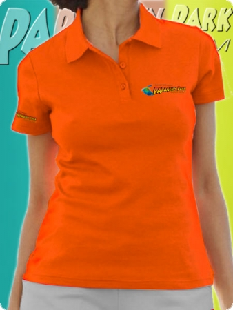 Polo shirt - Color Orange