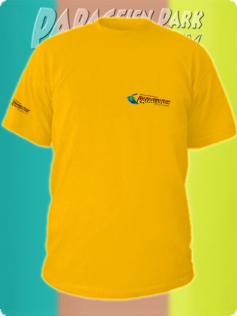 T-shirt - Color Gold-Yellow - Unisex