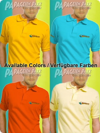 Polo shirt - Color Gold-Yellow - Unisex