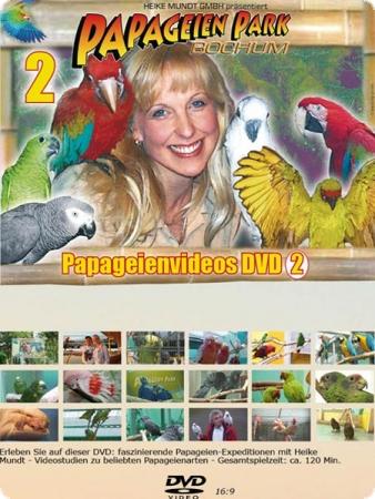 DVD mit Jacko, der singenden Amazone des Papageienpark Bochum kaufen