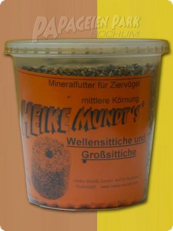 Minerals menu for parakeets - 500g - middle grain