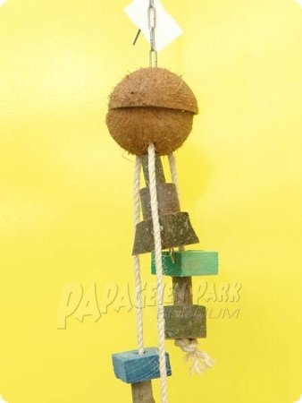 Natur line toy coconut foraging hideout