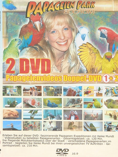 Double Parrot video DVD No 1 & No 2