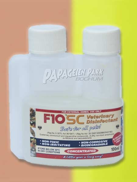 F10SC Desinfectant 100ml concentrate