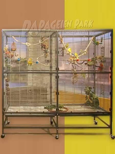 Der neue Papabo Sittichkäfig 2000