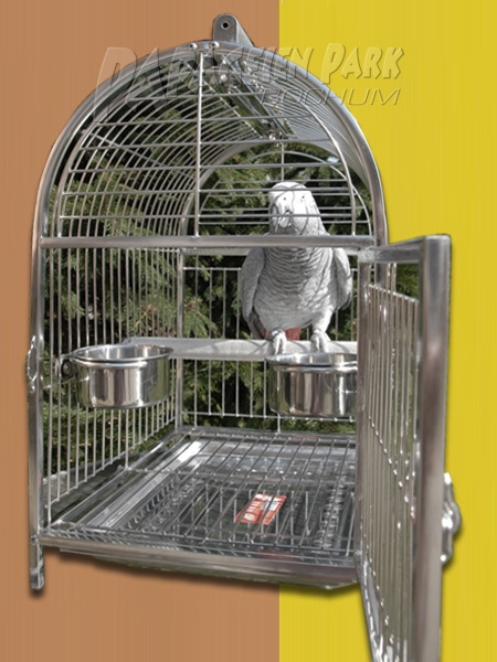 Stainless steel travel cage 35x38x47.5