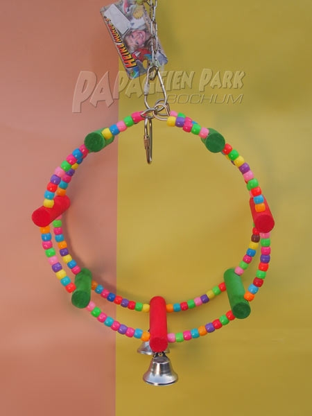 Rainbow Game Wheel Parrots & Parakeet Hanging Toy