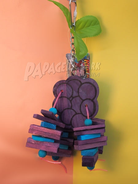 Buddgie Grape toy 8 x 25 cm