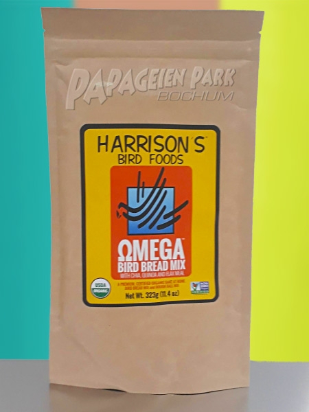 Harrison& 039;s Bird Bread Mix Omega with Chia Quinoa and Flax 323