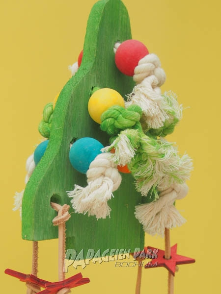 Parrots hanging toy Christmas tree 30cm