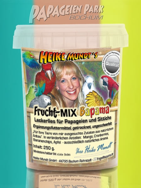 Tip for diet supplement Heike Mundt& 039;s fruit mix Bapama 250g