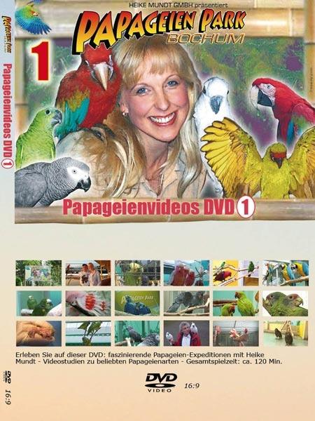 Parrot video DVD no 1
