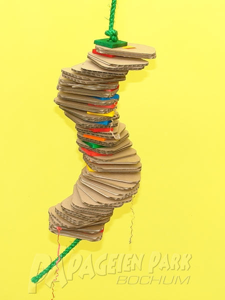 Hanging toy cardboard cards - large