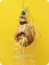 Heike Nature line hanging toy coconut shell