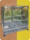 Stainless steel parrot aviary 150x150x150  1.774,90 EUR