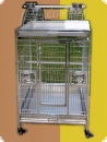 Stainless steel parrot aviary 63x58x150-A  992,90 EUR