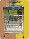 Stainless steel parrot aviary 80x60x150  1.175,90 EUR