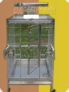 Stainless steel parrot aviary 63x58x150-L  941,90 EUR