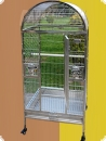Stainless steel parrot aviary 63x58x140  991,90 EUR