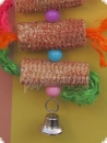 Corn Parade - Parrot hanging toy