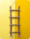 Nature line oak retro ladder large - 115 cm