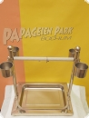 Training stainless steel seat 36x26x38