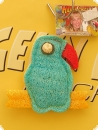 Table toy luffa bird 10cm