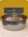 Stainless steel food bowl Ø 15cm - 0.9 L with slide-in holder