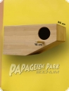 Parrot nesting box 58x30 right entry