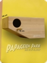 Parrot nesting box 58x30 left entry