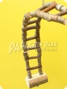 Natur line fixable hardwood ladder - small